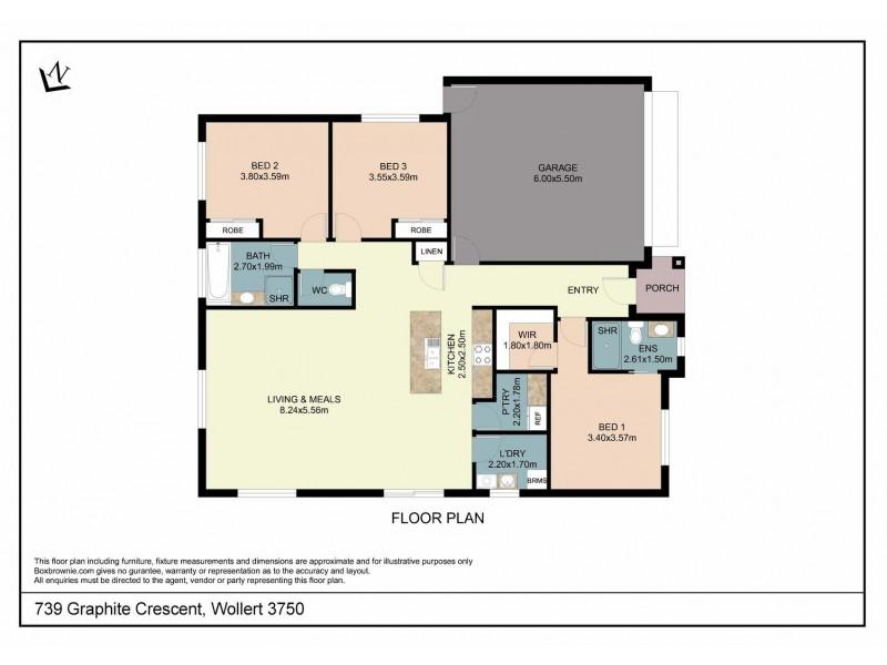 LOT 739 Graphite Crescent, Wollert VIC 3750