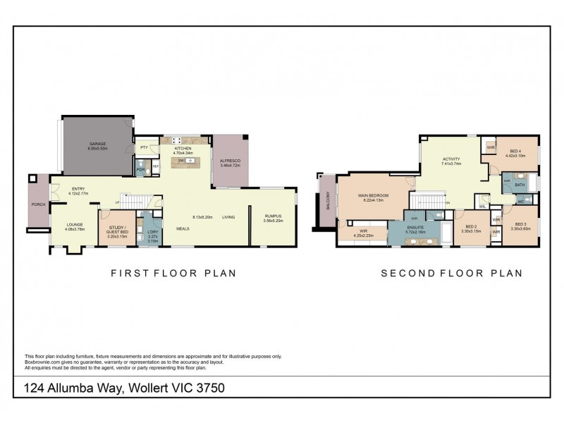 124 Allumba Way, Wollert VIC 3750 Floorplan