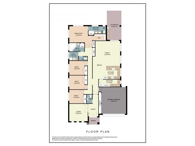 14 Leviticus Street, Epping VIC 3076 Floorplan