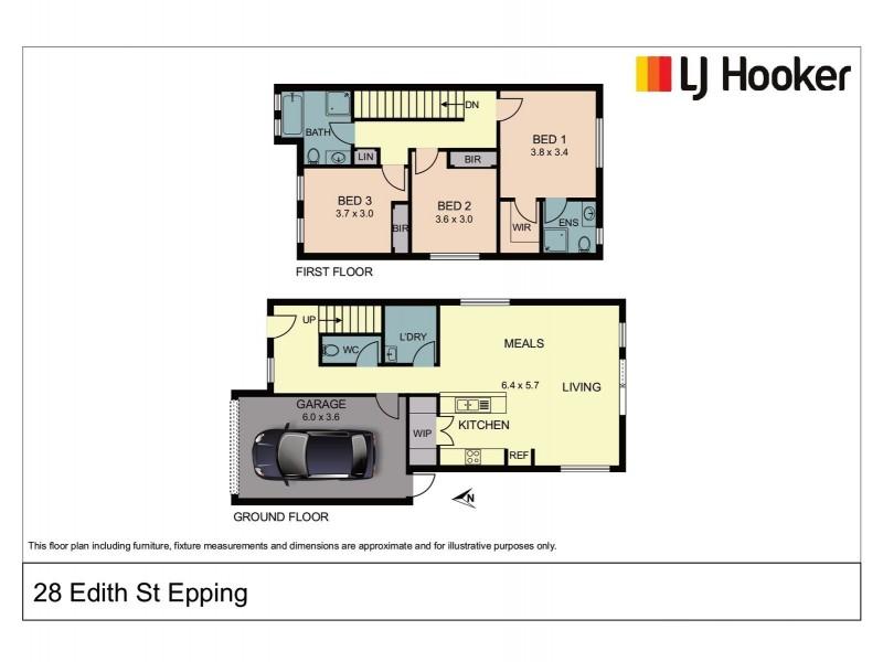 28 Edith Street, Epping VIC 3076 Floorplan