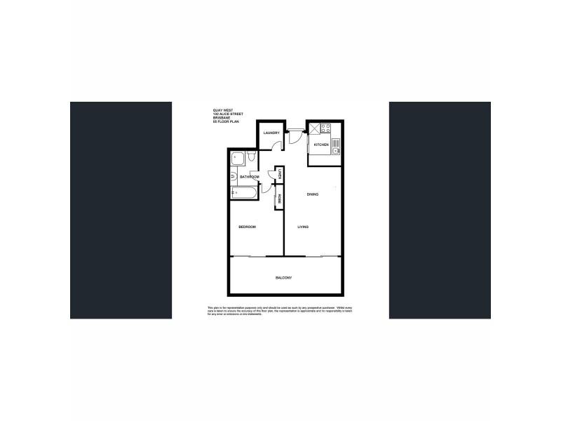 304/132 Alice Street, Brisbane City QLD 4000 Floorplan