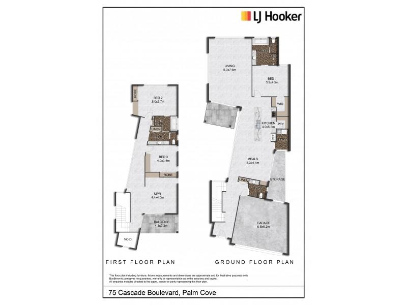 75 Cascade Boulevard, Palm Cove QLD 4879 Floorplan