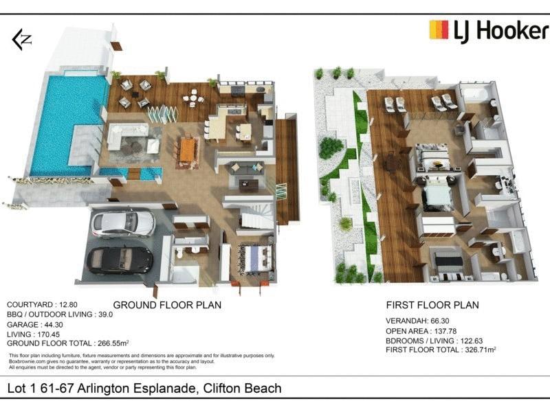 1/61-67 Arlington Esplanade, Clifton Beach QLD 4879 Floorplan