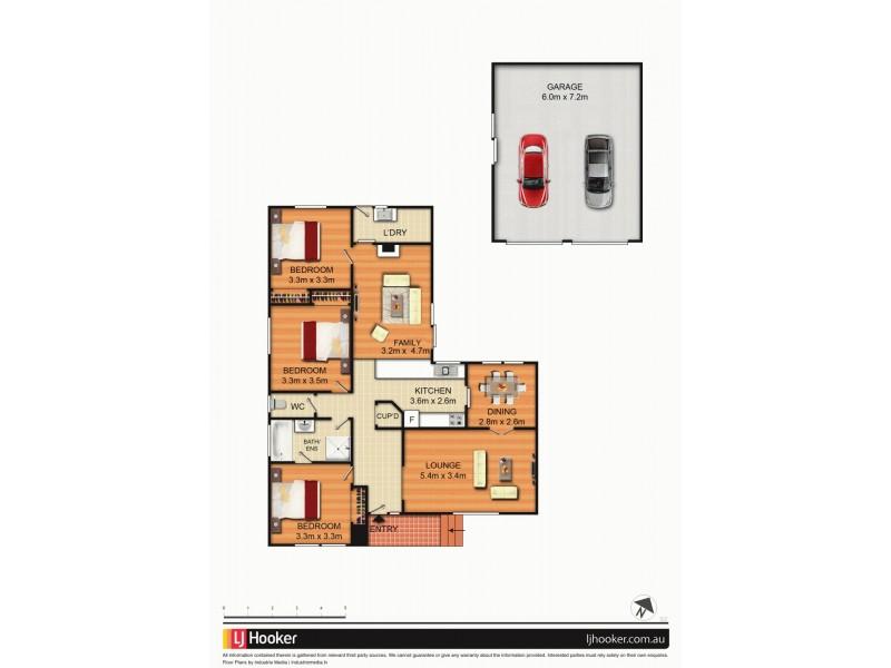 64 Sassafras Crescent, Queanbeyan NSW 2620 Floorplan