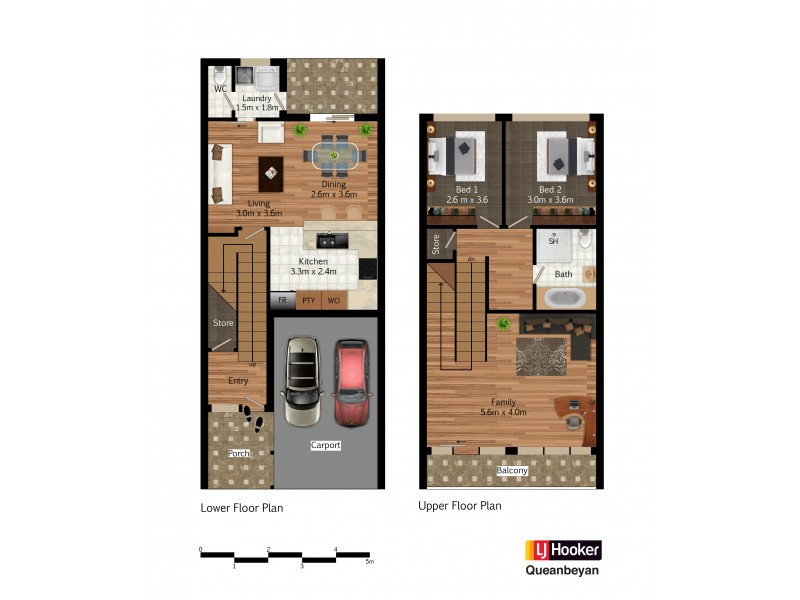21/7 Ford Street, Queanbeyan NSW 2620 Floorplan