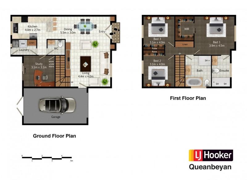 3/27 Gilmore Place, Queanbeyan NSW 2620 Floorplan