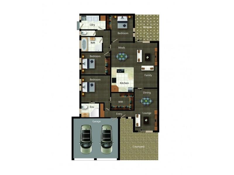 4/16 Telopea Place, Queanbeyan NSW 2620 Floorplan