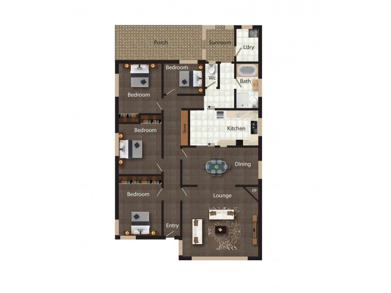 15 Hillbar Rise, Queanbeyan NSW 2620 Floorplan
