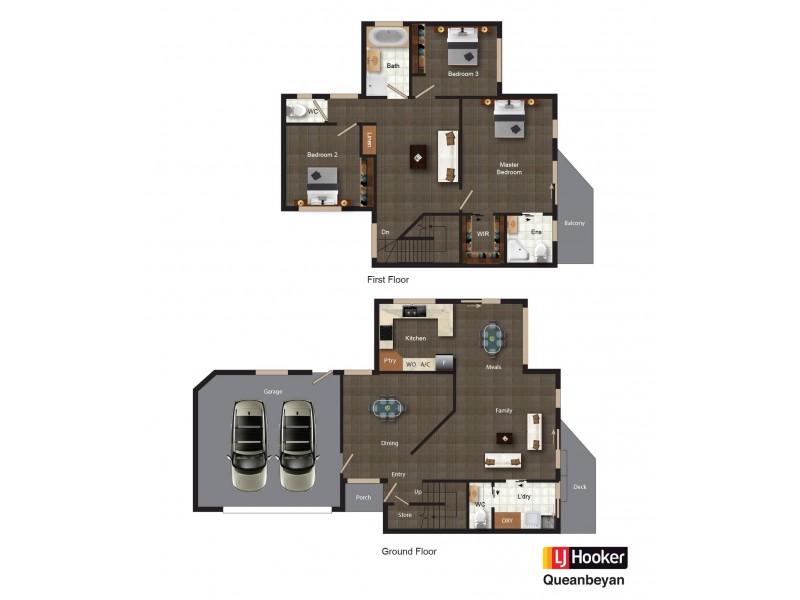 3/56 Tharwa Road, Queanbeyan NSW 2620 Floorplan