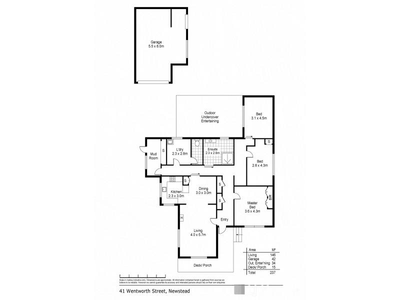 41 Wentworth Street, Newstead TAS 7250 Floorplan