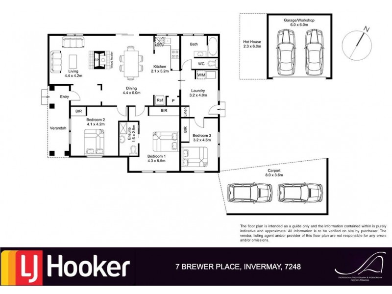 7 Brewer Place, Invermay TAS 7248 Floorplan