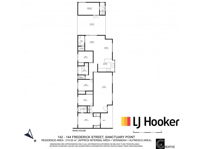 142 – 144 Frederick Street, Sanctuary Point NSW 2540 Floorplan