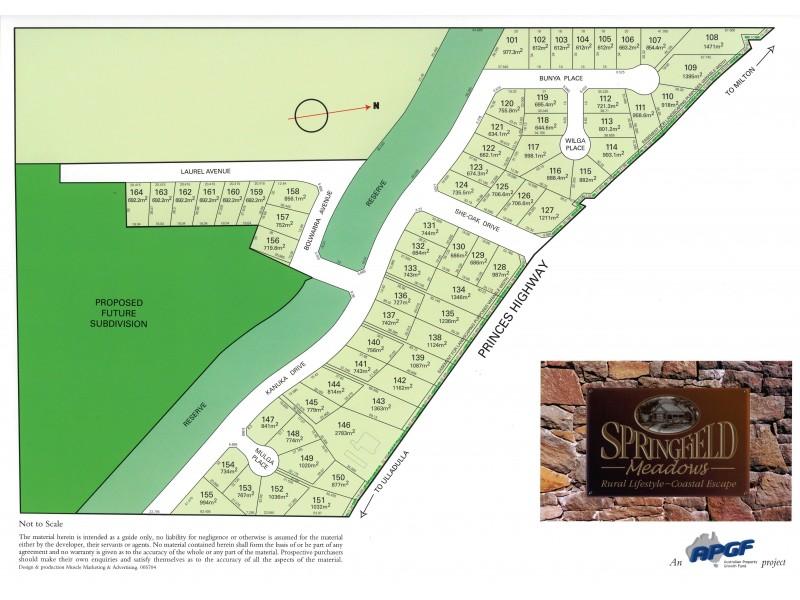 Lots 143-1 Springfield Meadows Estate, Ulladulla NSW 2539 Floorplan