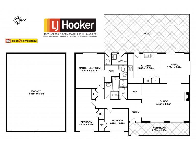 16 Carnelian Close, Ulladulla NSW 2539 Floorplan