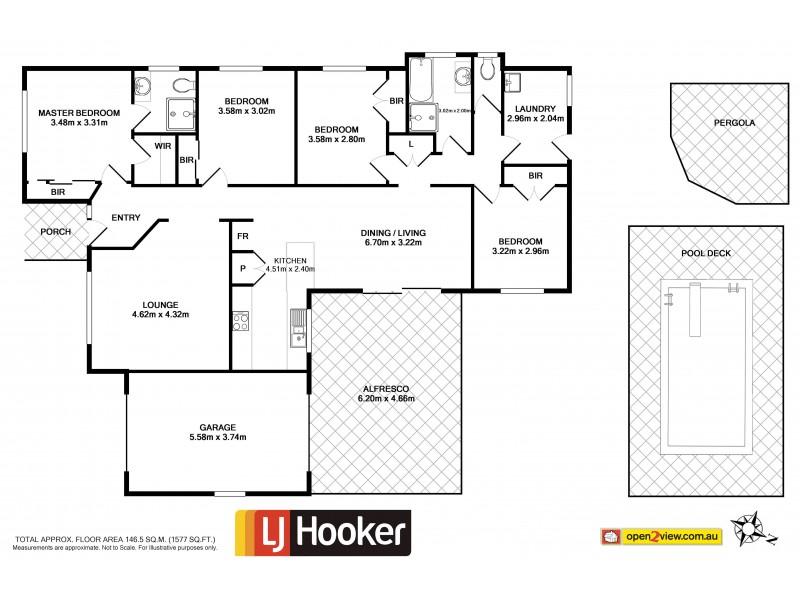 14 Lomandra Place, Ulladulla NSW 2539 Floorplan