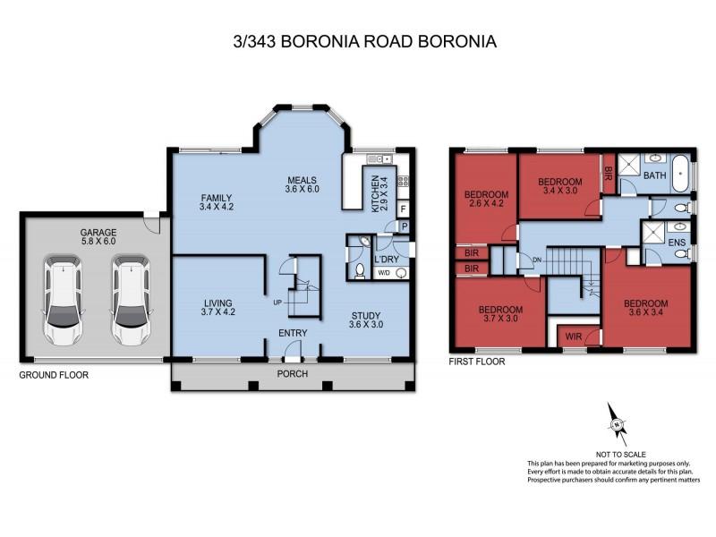 3/343 Boronia Road, Boronia VIC 3155 Floorplan