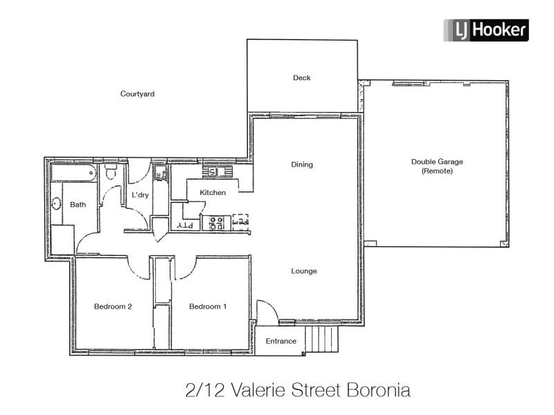 2/12 Valerie Street, Boronia VIC 3155 Floorplan