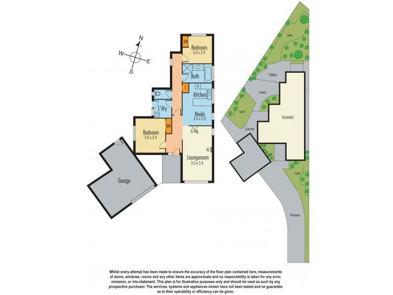 2/18 Parkview Close, Dandenong VIC 3175 Floorplan