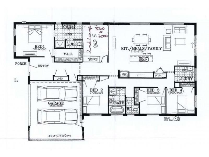 1 Magnolia Way, Paynesville VIC 3880 Floorplan
