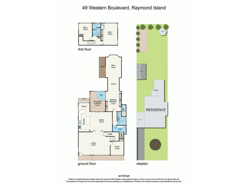 49 Western Boulevard, Raymond Island VIC 3880 Floorplan