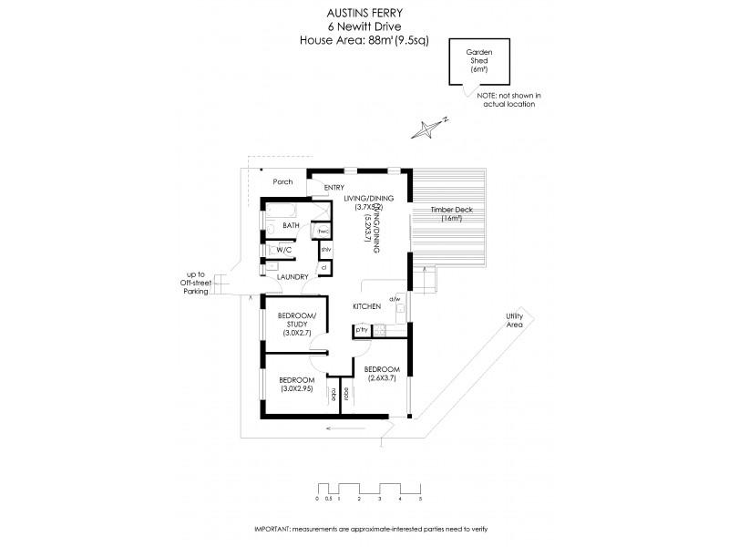 6 Newitt Drive, Austins Ferry TAS 7011 Floorplan