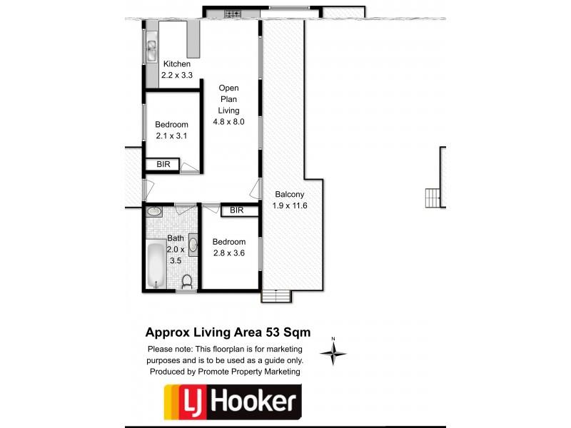 19 Le Compte Place, Bagdad TAS 7030 Floorplan