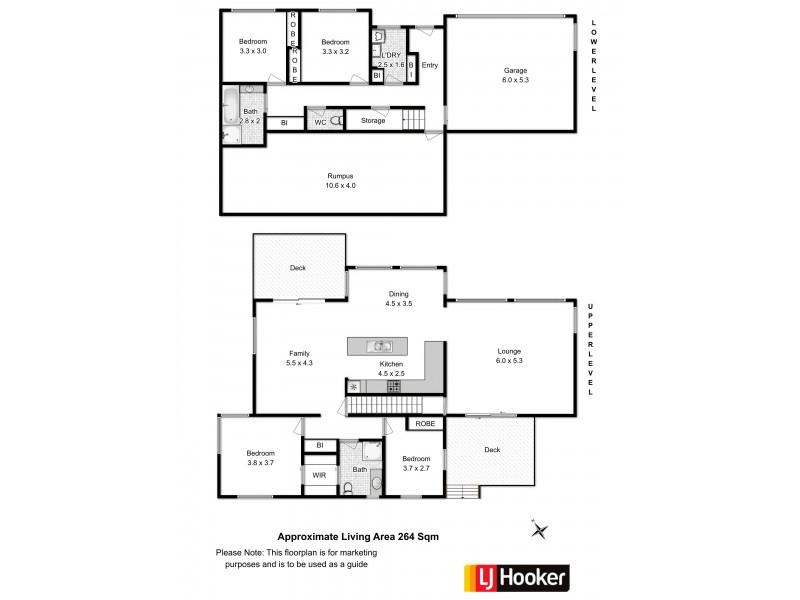 Villa 2/24 Govett Rise, Austins Ferry TAS 7011 Floorplan