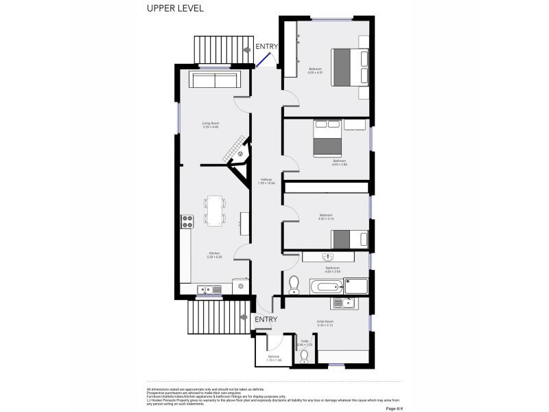 14 Easton Avenue, West Moonah TAS 7009 Floorplan