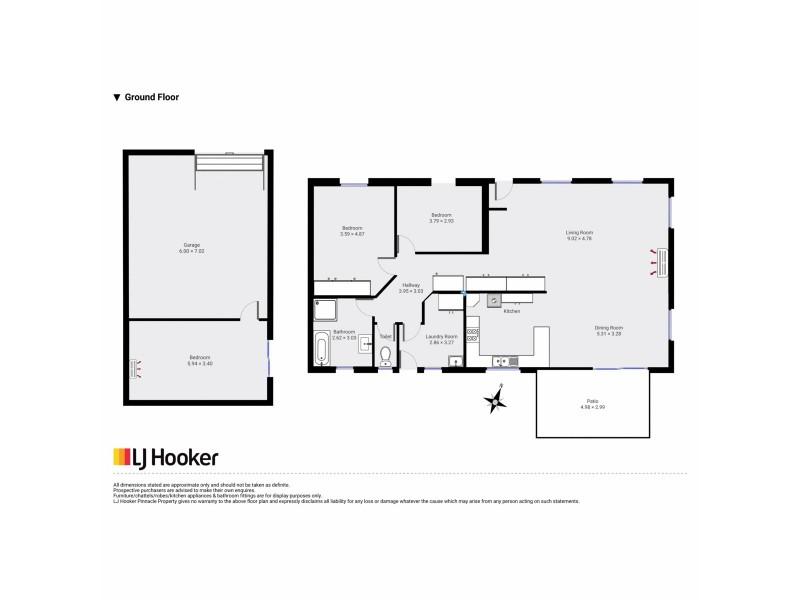 13 Sophia Street, Kempton TAS 7030 Floorplan