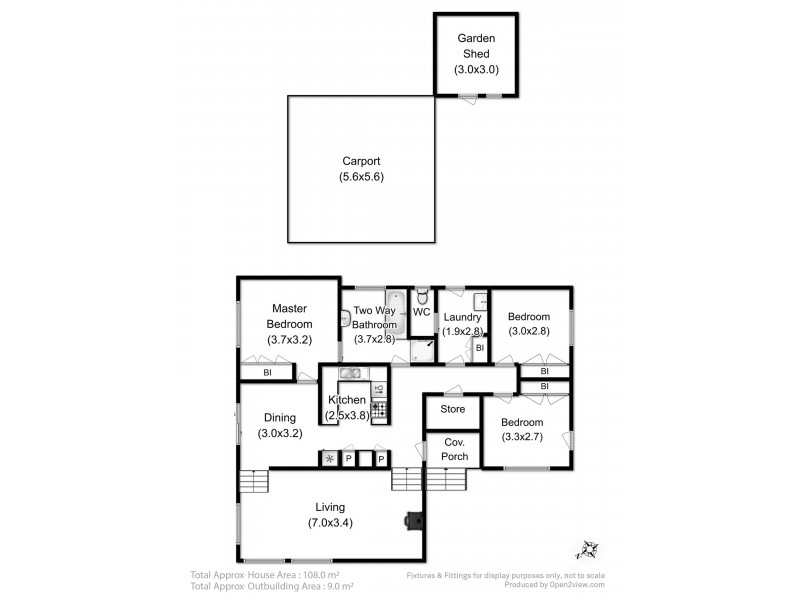 184 Albion Heights Drive, Kingston TAS 7050 Floorplan