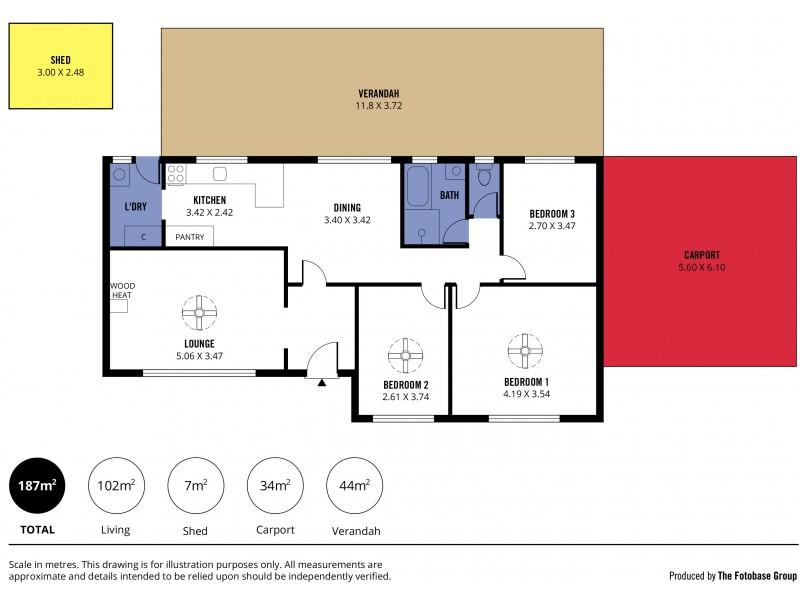 52 Gordon Street, Aldinga Beach SA 5173 Floorplan