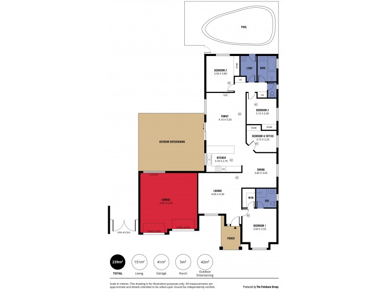31 Cockle Avenue, Aldinga Beach SA 5173 Floorplan