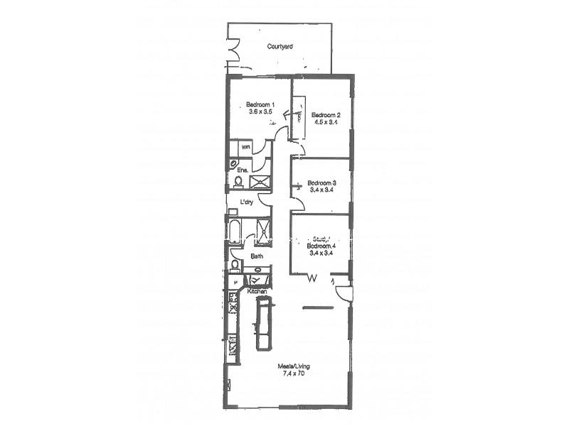 1 Whinnerah Avenue, Aldinga Beach SA 5173 Floorplan