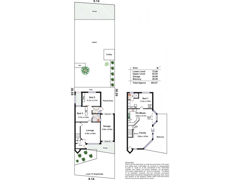 292 Esplanade, Aldinga Beach SA 5173 Floorplan