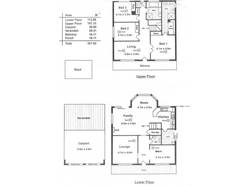 3 Norman Road, Aldinga Beach SA 5173 Floorplan