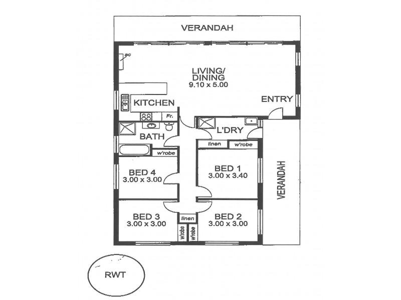 9 Darwalla Road, Aldinga Beach SA 5173 Floorplan