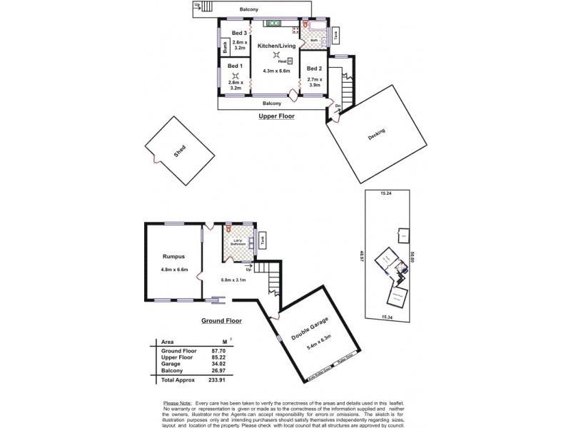 15 Palmer Street, Aldinga Beach SA 5173 Floorplan
