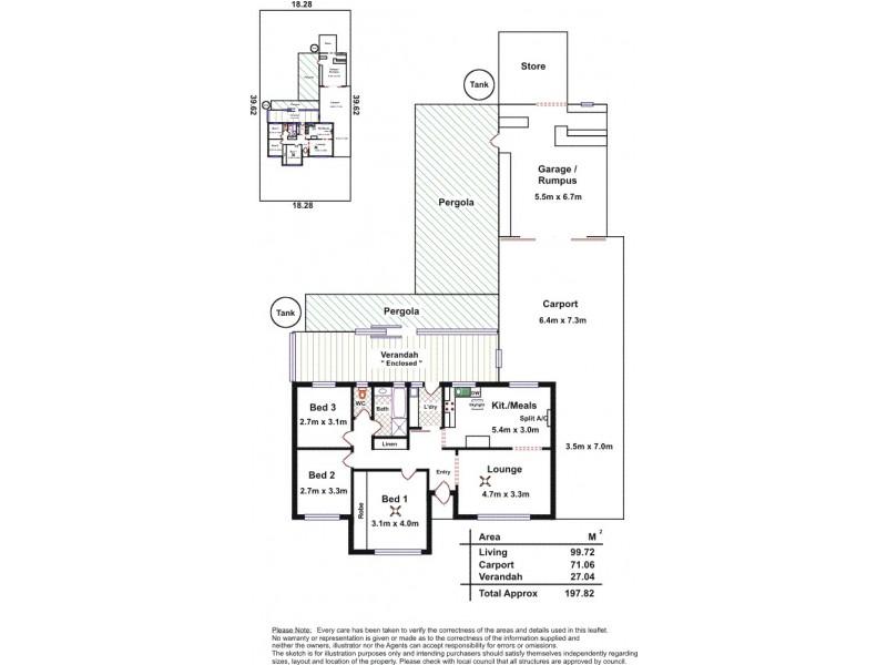 12 Illman Crescent, Aldinga Beach SA 5173 Floorplan