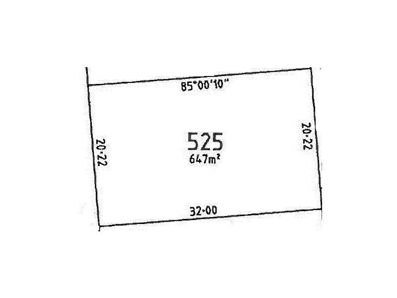 Lot 525 Evergreen Court, Aldinga Beach SA 5173 Floorplan