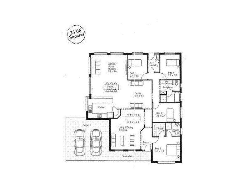13 Basin Street, Aldinga Beach SA 5173 Floorplan