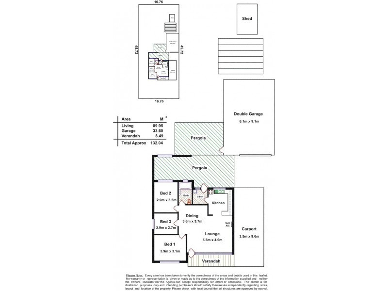 8 Storey Avenue, Aldinga Beach SA 5173 Floorplan