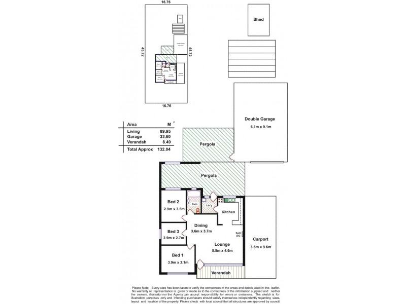8 Storey Avenue, Aldinga Beach SA 5173 Floorplan