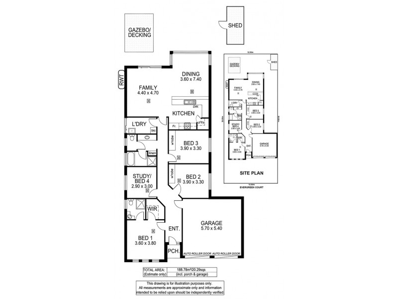 14 Evergreen Court, Aldinga Beach SA 5173 Floorplan