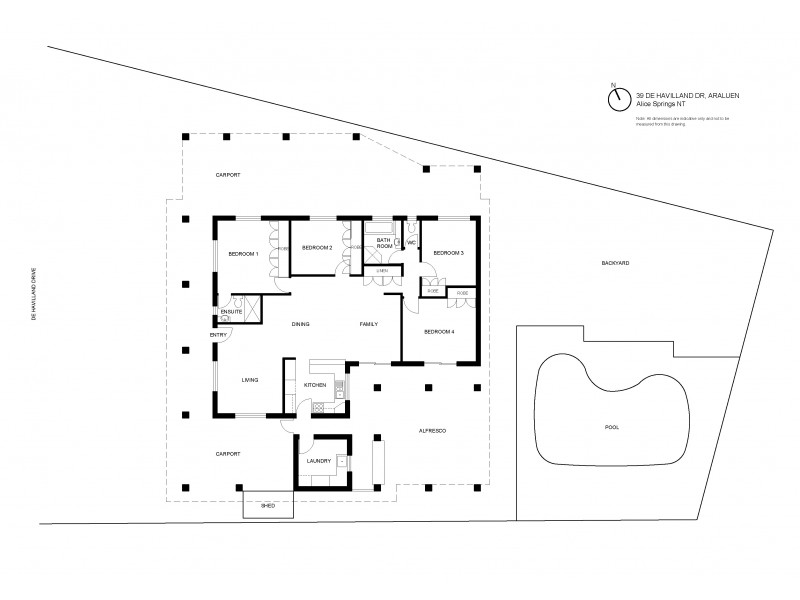 39 De Havilland Drive, Alice Springs NT 0870 Floorplan