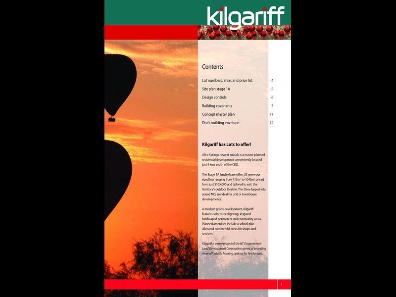 7282/Kilgariff Newest Suburb, Alice Springs NT 0870