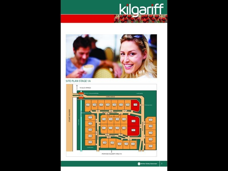 7286/Kilgariff Newest Suburb, Alice Springs NT 0870