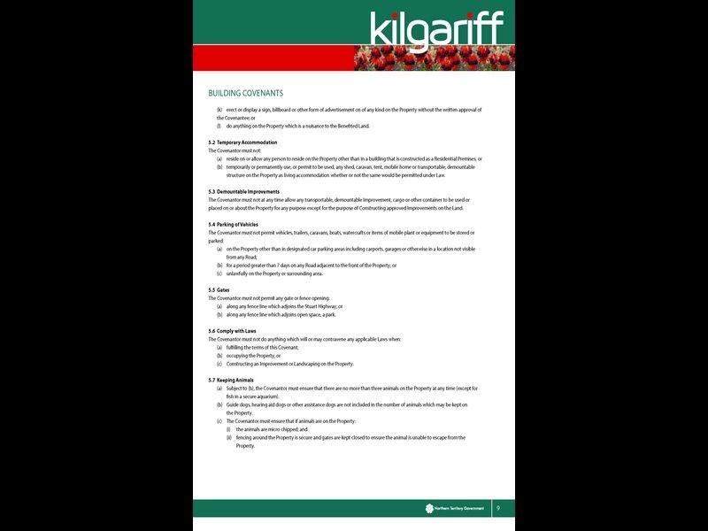 7300/Kilgariff Newest Suburb, Alice Springs NT 0870