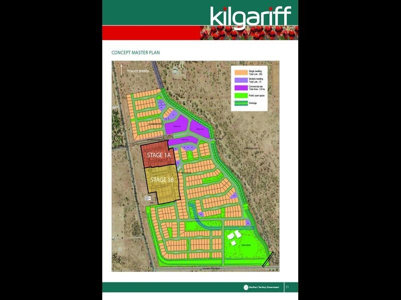 7298/Kilgariff Newest Suburb, Alice Springs NT 0870