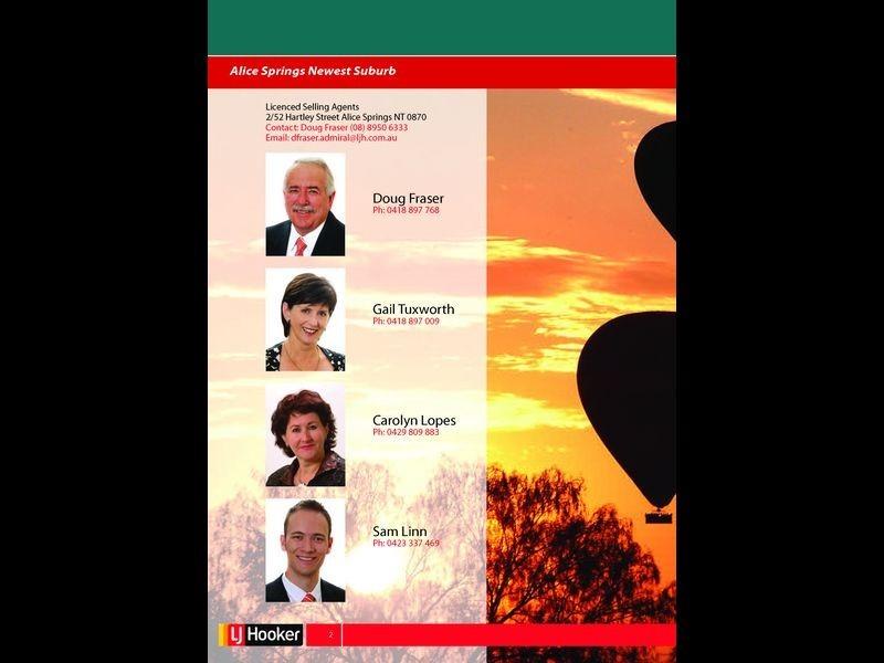 7292/Kilgariff Newest Suburb, Alice Springs NT 0870