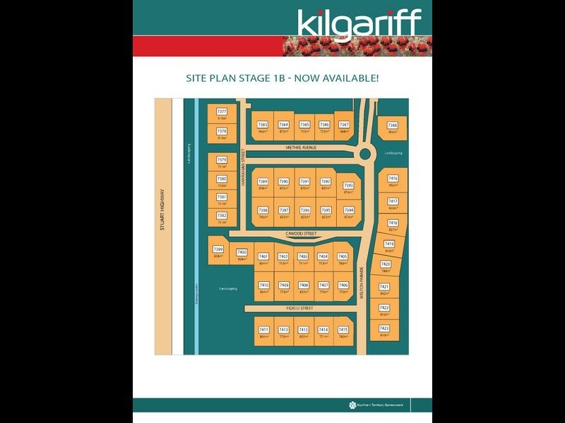 7391/Kilgariff Newest Suburb, Alice Springs NT 0870